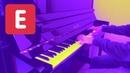 Rush E Sheet Music Boss Piano Cover