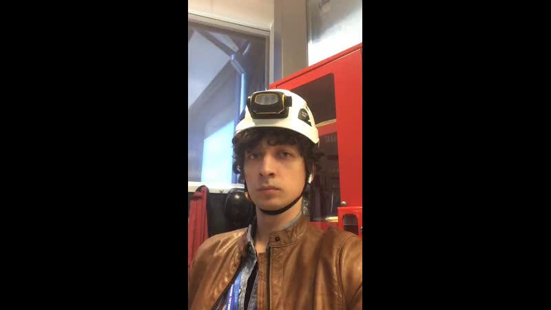 Атлас, ЦЕРН БАК, комната управления, тест перед трансляцией в цернач в 19