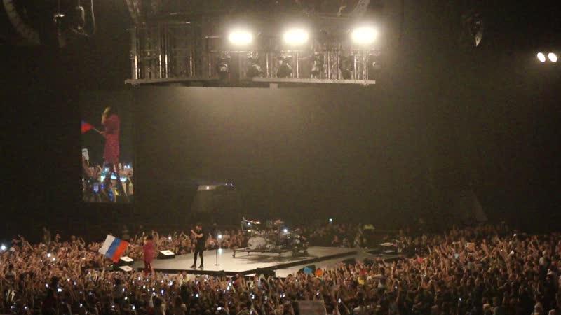 Концерт 30 Seconds to Mars в СКК..