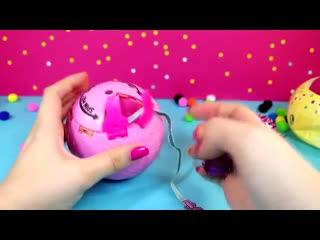 LOL SURPRISE КОНФЕТТИ ПОП 3 СЕРИЯ ! ЧТО ВНУТРИ Распаковка игрушек Куклы ЛОЛ СЮРП