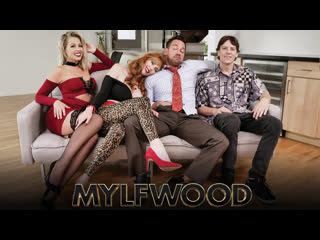 Lauren Phillips, Zoey Monroe, Johnny Castle, Rion King