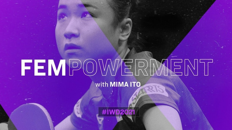 MIMA ITO Inspirational Women in Table Tennis