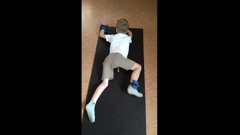 Упражнения при S - образном сколиозе 2 степени
