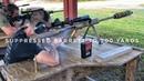 Suppressed Barrett M107A1 500 yards Subsonic 50 BMG