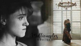 Multicouples | Bruises (HBD to Delena Fan Girl)