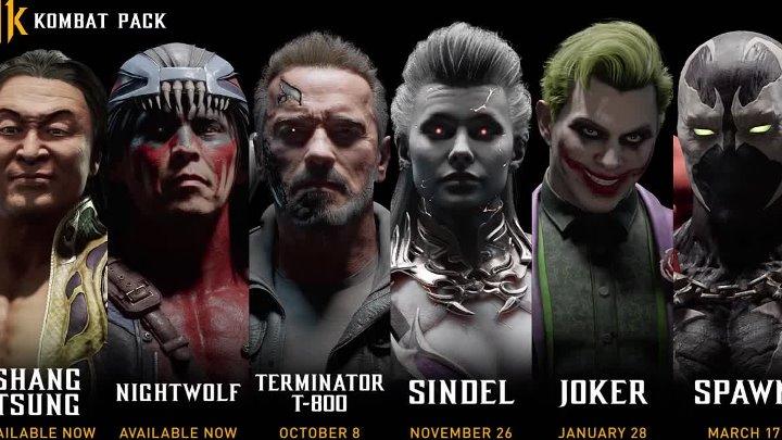 Терминатор и Джокер стали частью сезонного пропуска Mortal Kombat 11