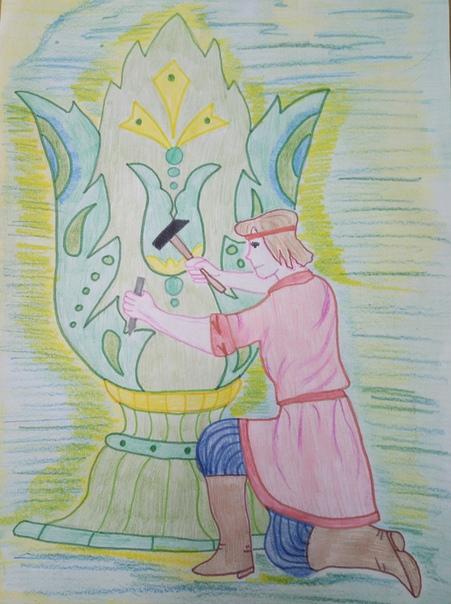 каменный цветок раскраска бажов можете заметить, ресницы