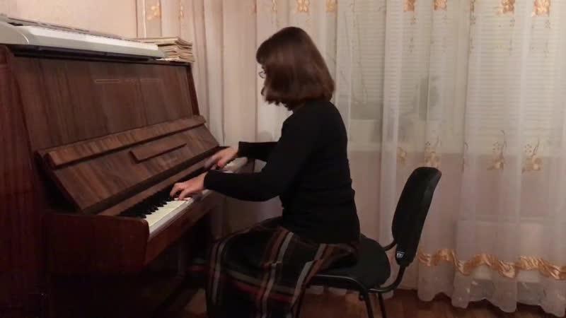 Джаз вальс Очарование Ю Весняк