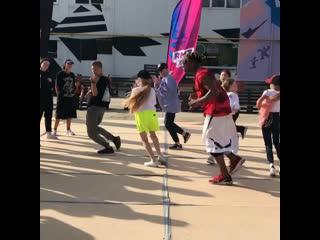 RMT DANCE CAMP Meech hip-hop routine