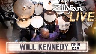 Zildjian LIVE! - Will Kennedy - Drum Cam