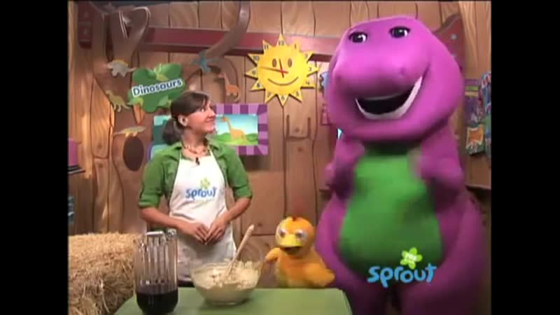 The Sunny Side Up Show Barneys Purple Hummas Dip