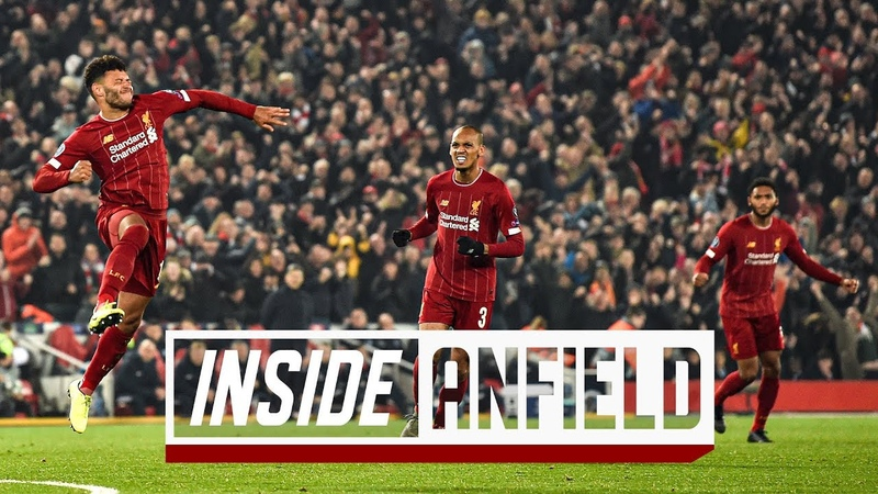 Inside Anfield Liverpool 2 1 Genk Exclusive behind the scenes footage