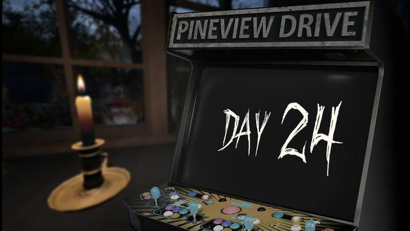 Pineview Drive | День 24 | Прохождение MAKE BY VEL | Арахнофобия