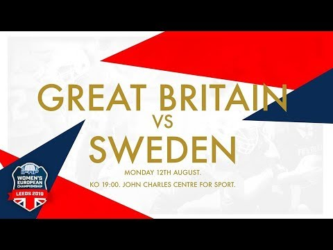IFAF WOMEN'S EUROPEAN CHAMPIONSHIPS 2019 - Great Britain vs Sweden