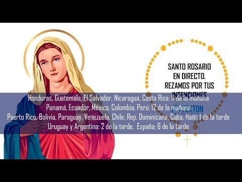Santo Rosario en directo 24 mayo 2019 Fiesta de María Auxiliadora Red Mundial del Santo Rosario