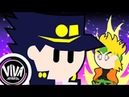 JoJo's Bizarre Adventure Stardust Crusaders But Really Really Fast Animation