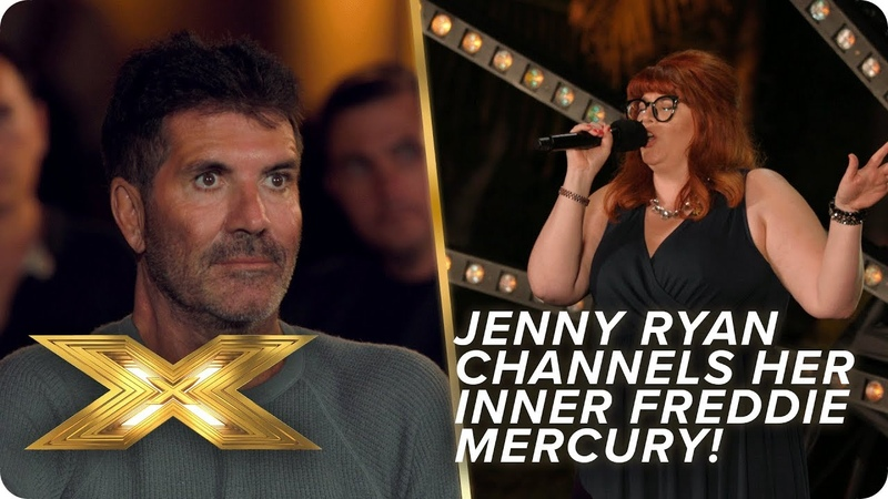 The Chase's Jenny Ryan channels her inner Freddie Mercury X Factor Celebrity