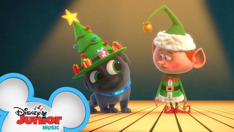 The Joy of Christmas Music Video 🎅🏽 | Puppy Dog Pals | Disney Junior