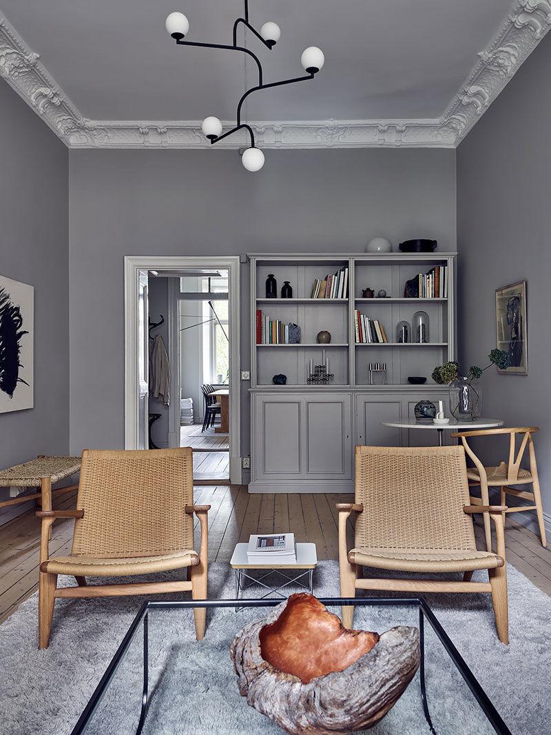 Стильная скандинавская квартира в сказочном доме в Гетеборге || 01