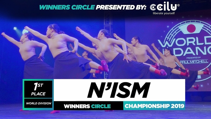 N'Ism | 1st Place World Division | Winners Circle | World of Dance Championship 2019 | WODCHAMPS19