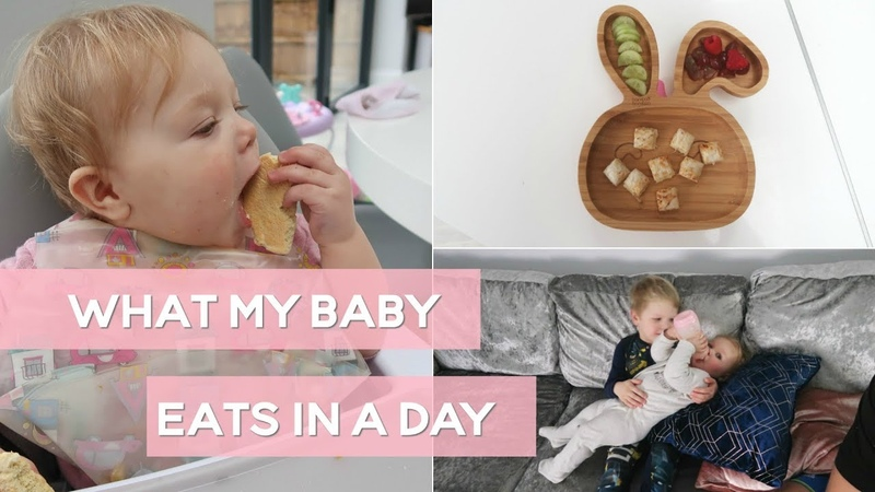 What My 10 Month Old Baby Eats In a Day