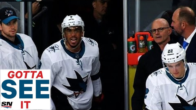 GOTTA SEE IT: Evander Kane Shoves Ref And Gets Kicked Out Of Preseason Game