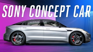 Sony Vision-S concept car first look