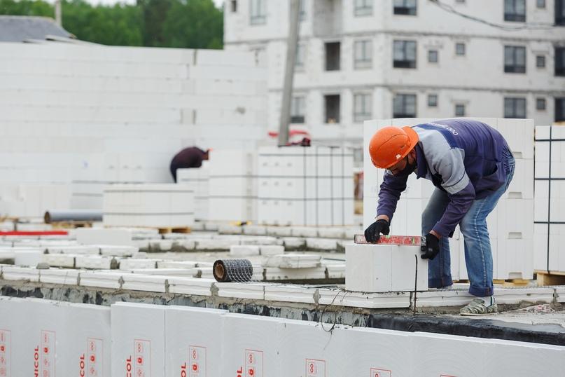 Отчет о ходе строительства квартал «Среда» май 2020, изображение №22