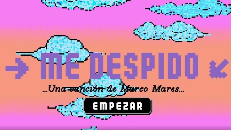 Marco Mares Me Despido Lyric Video