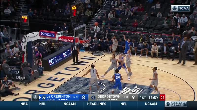 NCAAM 20200115 25 Creighton@Georgetown