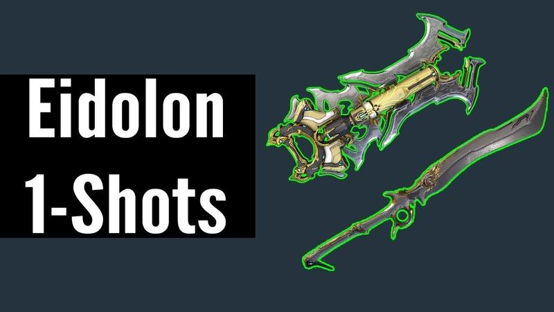 The New Eidolon Slayers Warframe
