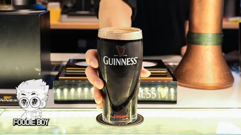 Guinness The Cask Hongdae Seoul Korea Пиво Guinness