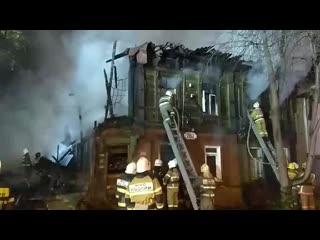 Самара. пожар ленинский 267