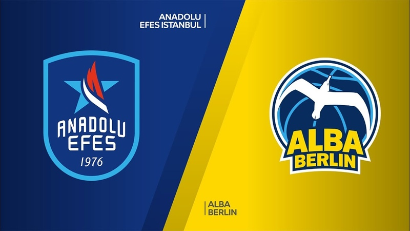 Anadolu Efes Istanbul ALBA Berlin Highlights Turkish Airlines EuroLeague RS Round 2