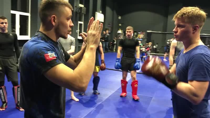 Александр Саночкин - тайский бокс