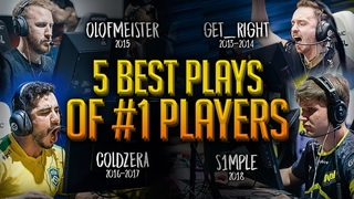 5 Best Plays Of Every #1 Player In The World (2013-2018)