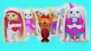 Мультик Три кота и Пиглет пошли в 1 класс. Три кота идут в школу 3 кота открывают сюрпризы Piglette