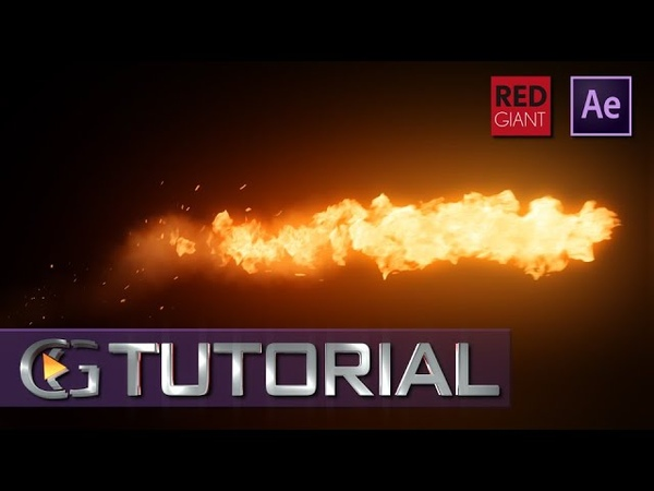 After Effects - Realistic Fire : Trapcode Particular