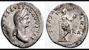 Денарий, 79 н.э. - 80 н.э., Монета Тита, Древний Рим, Denarius, 79 - 80 AD