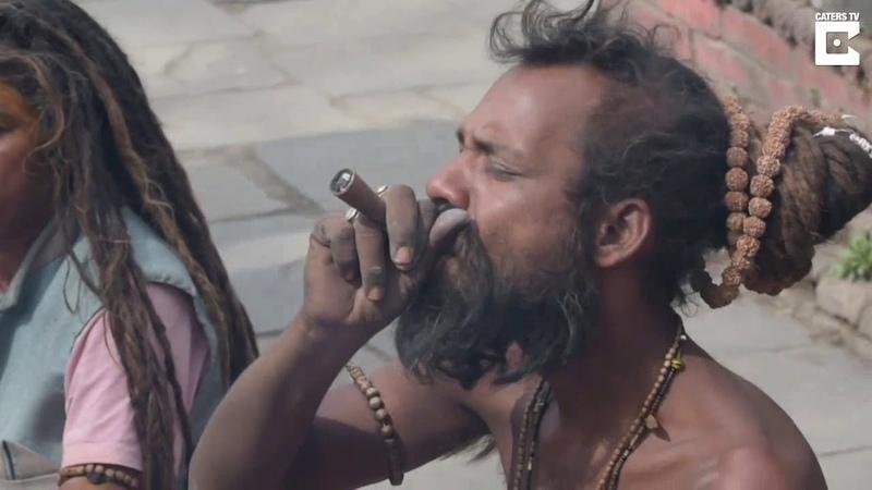 Люди празднуют Махашиваратри и курят марихуану в Индии Самый почитаемый и великий праздник в Индии