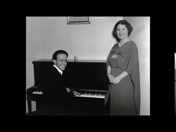 Grieg Fra Monte Pincio Opus 39 No 1 Kirsten Flagstad Edwin McArthur