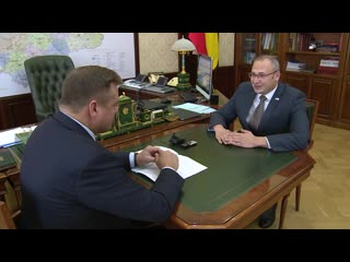 Встреча с генеральным директором ООО Форт Павлом Вандышевым