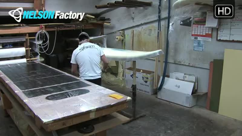 Nelson Factory Windsurfing Custom Boards No. 8 Part 1