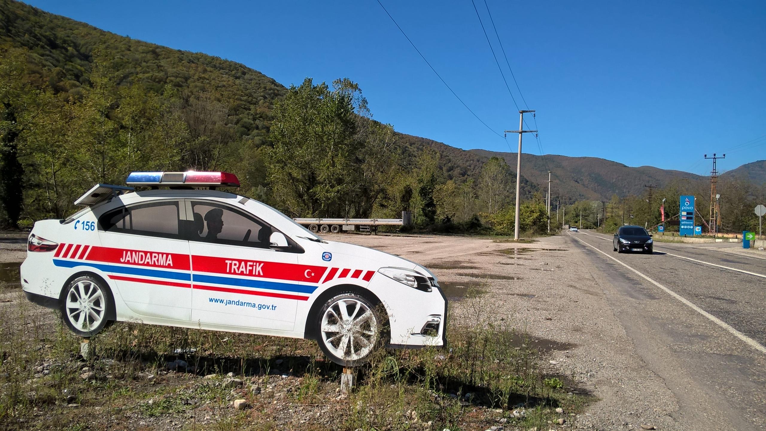 """""""жандарма трафик"""" -ГАИ на дорогах Турции"""