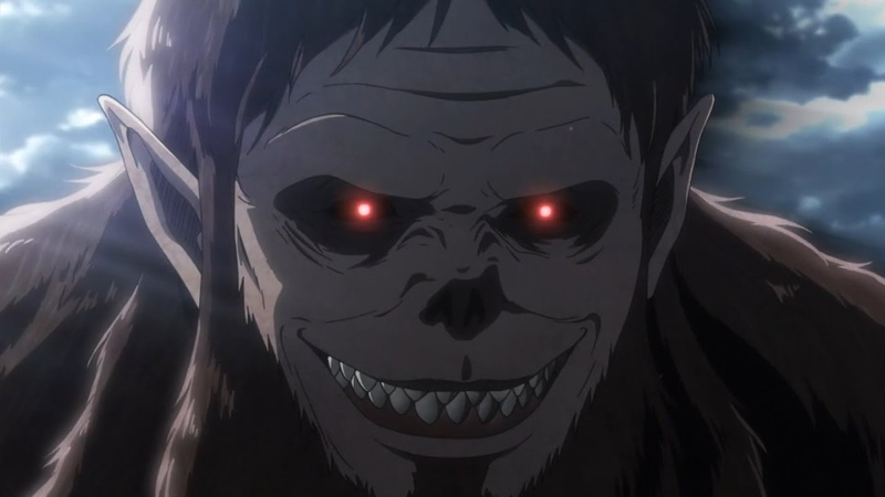 Beast Titan And Armored Titan Begins To Destroy The Gate Shingeki no Kyojin 3 Part 2