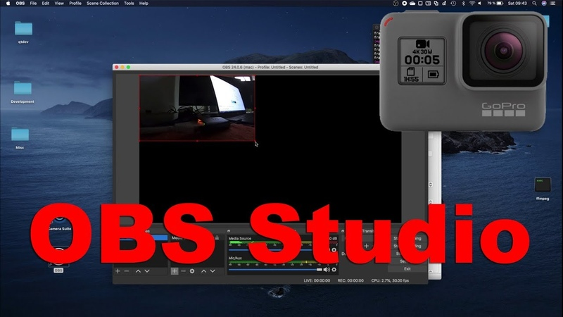 How to connect GoPro Hero cameras to OBS Studio macOS