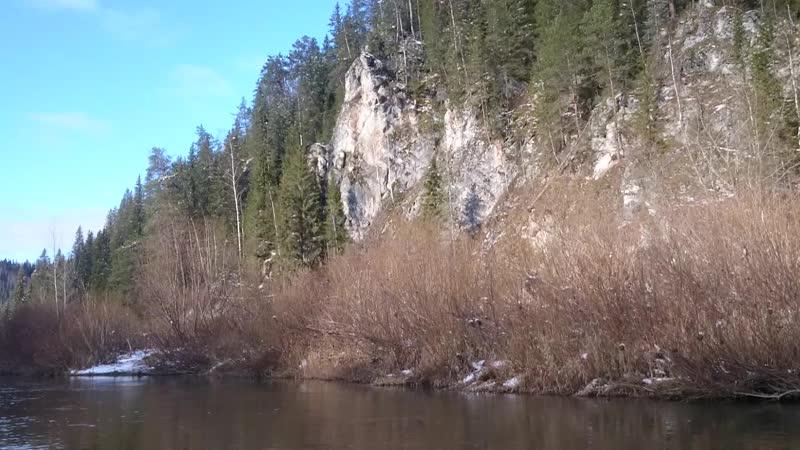 Река Койва, Сосновый Камень, октябрь 2019 [Закрытие сезона]