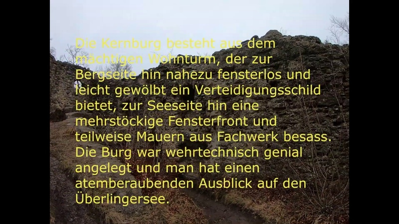 MTB Rundtour Überlingersee Ermatingen Konstanz Ruine Altbodman Sipplingen Churfirsten