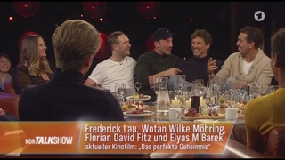NDR Talk Show🔸🔸mit Elyas M´Barek/Florian David Fitz & Dana Schweiger▶︎GanzeSendung◀︎HD