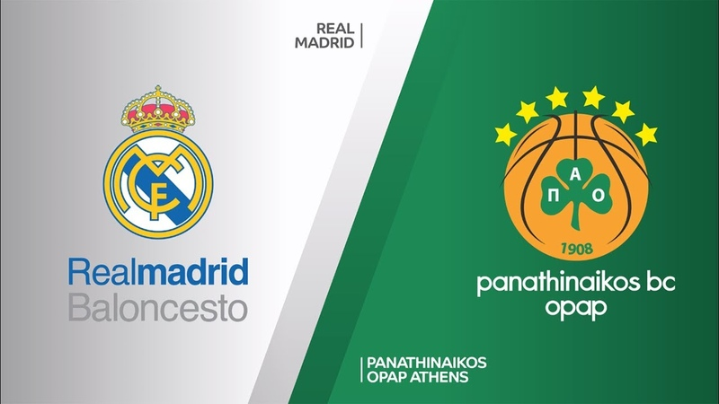 Real Madrid Panathinaikos OPAP Athens Highlights Turkish Airlines EuroLeague RS Round 26